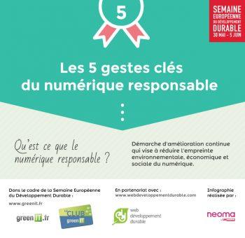 5 gestes du numérique responsable